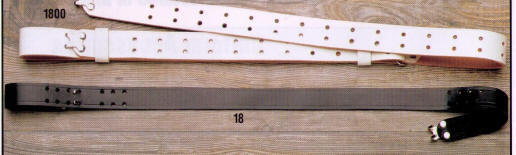 "1 "" Military Rifle  Sling Top Grain Cowhide"
