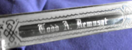 engraved sword - name