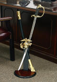 Military Sword Stand